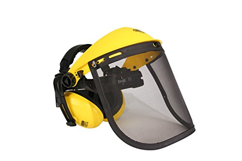 Oregon Q515061 Mesh Visor Ear Muff Combination for Trimmer and Brushcutting Test