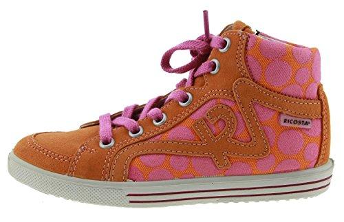 Ricosta  Padme, Chaussures de ville à lacets pour femme orange papaye Papaye
