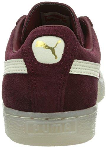 Puma Suede Classic+ LTHR FS Unisex-Erwachsene Sneakers Rot (zinfandel 04)