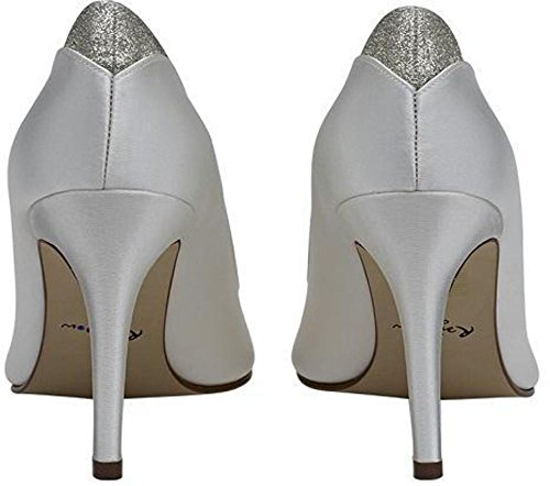 Rainbow Club - Chaussures Fermées Femme Blanc (ivoire)