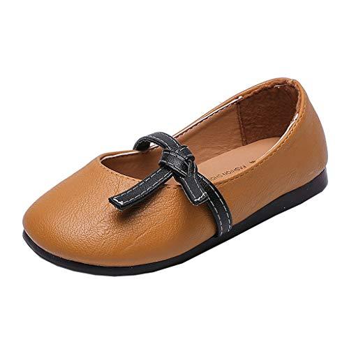 koperras Kinderschuhe MäDchen Sommer MäDchen Geknotet Einzelne Schuhe Schuhe LäSsig Prinzessin Schuhe Sandalen EIN Pedal Einfarbig Einfache Tanzschuhe