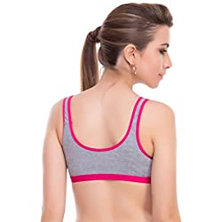 Bodylable Cotton Combo Of 3 Sports Bra