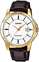 Casio Watch For Men Standard Analog Stainless Steel Date Dial