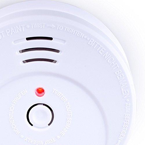 Smartwares TÜV Rauchmelder / Brandmelder, DIN EN 14604, reinweiß, RM149_1J - 7