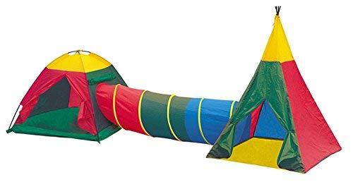 Tenda da gioco per bambini, con tunnel, 8703