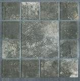 Bodenfliesen,30,4 x 30,4 cm, Farbe Carrara 7, 1,2 mm dick, selbstklebend, 11 Stück im Karton, 1,0 m²