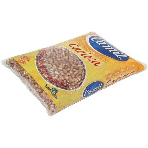 Bohnen (braun aus Brasilien) CAMIL - Feijão Carioca CAMIL 1kg (Bohnen Braune)