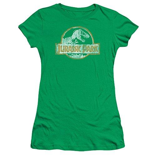Jurassic Park - Top - T-shirt con stampe - Maniche corte  - puro - Donna Verde - Kelly green XX-Large