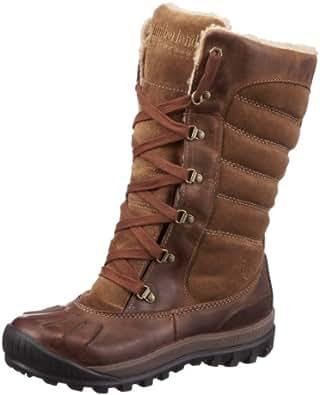 Timberland Mount Holly Leather/suede 26647, Damen Stiefel, Braun (Dark Brown), 35,5 EU / 3 UK