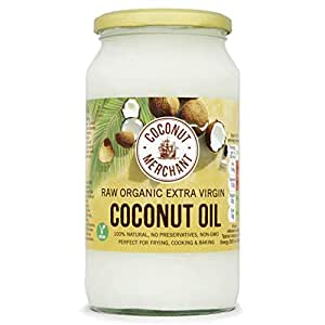 Raw Organic Extra Virgin Coconut Oil 1L Coconut Merchant