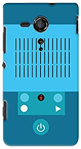 Kasemantra Music Player Case For Sony Xperia Sp