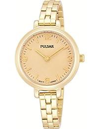 Pulsar Women's Black Stainless Steel Bracelet Watch PM2058X1