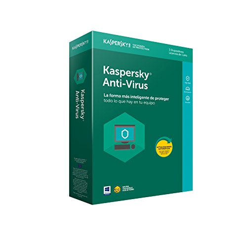 Kaspersky 2018 - Software De Antivirus, 3 Licencias