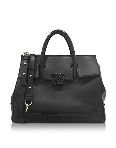 Versace-Womens-DBFF453DSTVTKNJOC-Black-Leather-Handbag