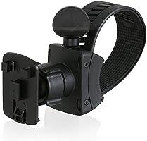 Wicked Chili Ersatz Fahrradhalterung XL für Tour Case - Lenker Befestigung mit Kugelgelenk und Einstellschraube (Oversize Durchmesser: 18 - 40 mm) schwarz