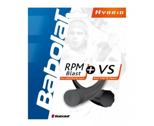 Babolat Combo Pack RPM Blast 17 Plus VS 16 Corde de tennis