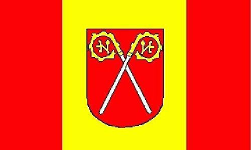 U24 Aufkleber Warin Flagge Fahne 15 x 10 cm Autoaufkleber Sticker