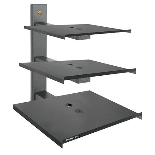 Jenefas -Wall Mount for DVD Player and Set Top Box and TV Stabilizer Stand