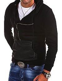 MT Styles pull avec capuche Zipper homme MT-906