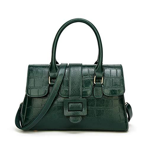 64b589cc8a XIAOXINYUAN Donne Borsa A Tracolla Donna Nuova Moda Modello Coccodrillo  Casual Messenger Bag Ladies Borsetta Verde