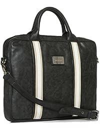 Gauge Machine Synthetic Black Laptop Bag