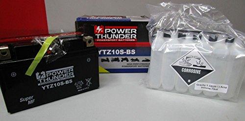 Akku Power Thunder YTZ10S-BS (versiegelt mit CORREDO) 2V/8,6AH (Thunder Power Akkus)