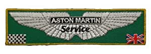Ecusson brode patch ASTON MARTIN SERVICE Cars Racing Team t-Shirt Embroidered Iron or Sew on Patch by wonderfullmoon