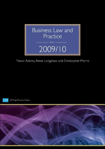 Business Law and Practice (CLP Legal Practice Guides) by Trevor Adams (2009-08-03)