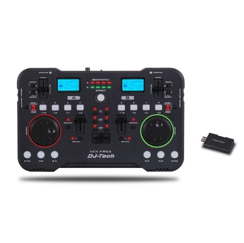 DJTech Mix - Mixer wireless, con WLAN-Controller