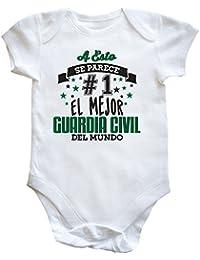 HippoWarehouse A Esto Se Parece #1 El Mejor Guardia Civil Del Mundo body bodys pijama