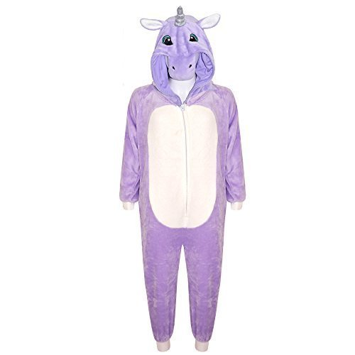 A2Z 4 Kids® - Grenouillère - Fille Unicorn Purple 9-10 ans