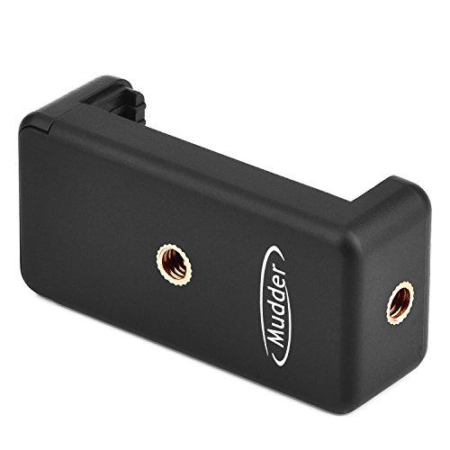 Mudder - Soporte adaptador de móviles para Selfie Stick, color negro