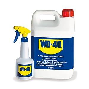 WD-40 Prodotto Multifunzione - Lubrificante Tanica da 5 lt + Dosatore Spray incluso 1 spesavip