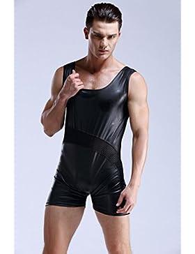 KAI-Mutande Slip da Uomo Boxer da Uomo Sportivo ,Black,XL