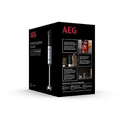 AEG-HB5-1-8SS-Stabmixer-2-Edelstahl-Klingen-inkl-umfangreiches-Zubehr-komfortable-Passform-variable-Geschwindigkeitsstufen-Turbo-Funktion-splmaschinenfest-gebrstetes-Edelstahlschwarz