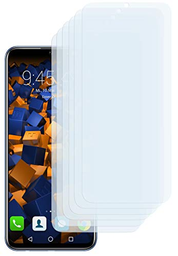 mumbi Schutzfolie kompatibel mit Huawei Honor 10 Lite Folie klar, Bildschirmschutzfolie (6X)