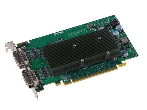 Matrox Computer-grafikkarten (Matrox M9125 Grafikkarte (PCIe x16, 512MB GDDR2 Speicher, Dual Link DVI-I))