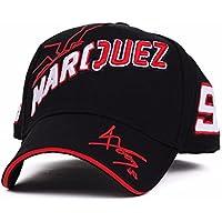 Wanglele Hat Baseball Hormigas Bordado Moto Deportes Baseball, Negro