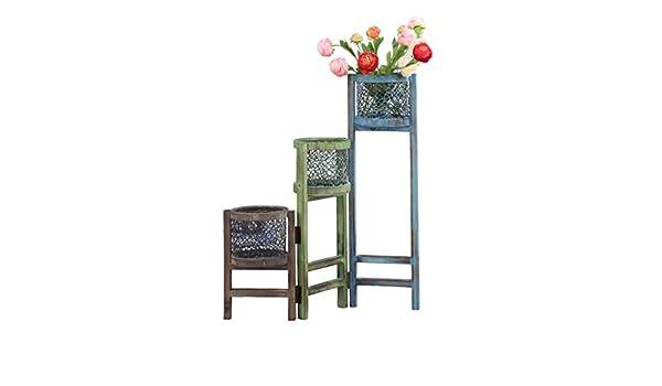 Supporti per piante rack jun flower tier ladder pieghevole per