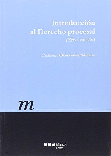 Introducción al Derecho procesal (Manuales universitarios)