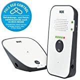 NUK 10256438 Eco Control Audio 500, Vigilabebés Digital con Eco de moda y Full de...