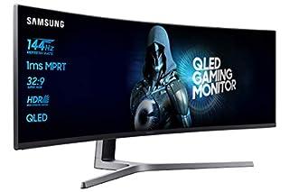"Samsung C49HG90DMU - Monitor Curvo Gaming 49"" (QLED, 2 x Full HD, 32:9, 144 Hz, 1 ms, HDR, 3000:1, 1800R, FreeSync) (B073RJQXB1) | Amazon price tracker / tracking, Amazon price history charts, Amazon price watches, Amazon price drop alerts"