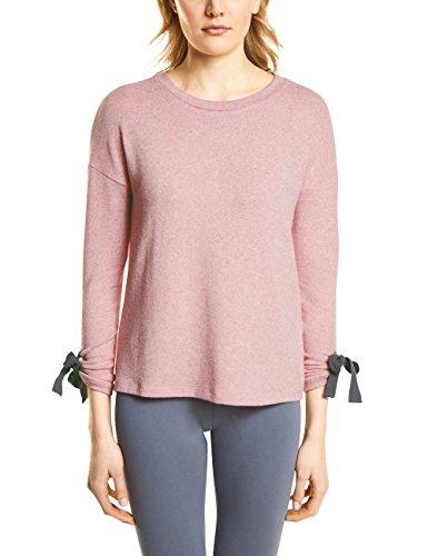 Street One, Sweat-Shirt Femme Rosa (Blooming Rose Melange 10868)