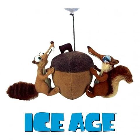 Ice Age 3 Scrat & Scratte mit Nuss 20 cm Plüschtier mit Saugnapf zum Aufhängen