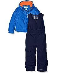 Columbia–Mono y chaqueta de esquí de, Infantil, Buga, Super Blue, XXS
