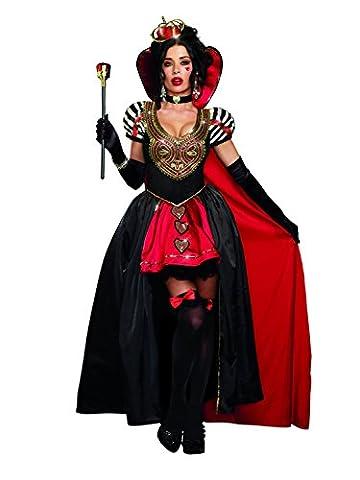 Noir Costumes Cap - Dreamgirl Femme Fancy Dress Costume pour adulte