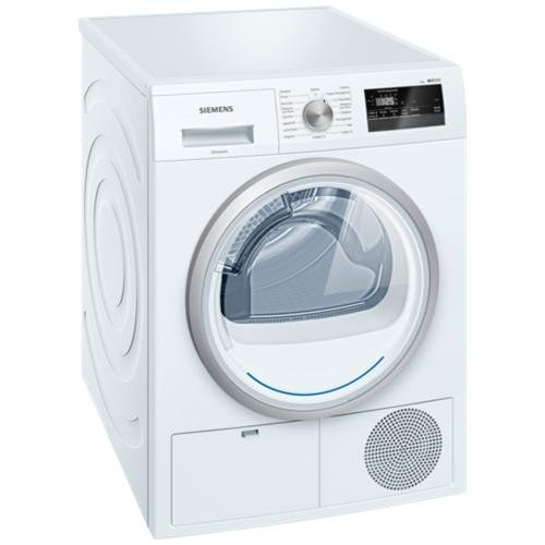 Siemens iQ300 wt45h208it Own Front Load 8kg A + + White Tumble Dryer (, Front Load, Heat Pump, White, Rotary, Touch, Right)