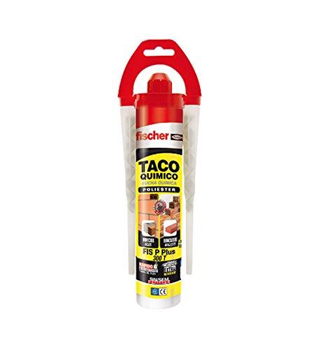 FISCHER 510637 Taco Químico, Gris, 300 ml