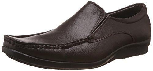 Bata Men's Scale Brown Formal Shoes - 8 UK/India (42 EU)(8514804)