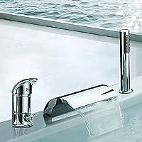 BASCJ ottonerubinetto del bagno,Vasca romana contemporanea cascata / diffusa /